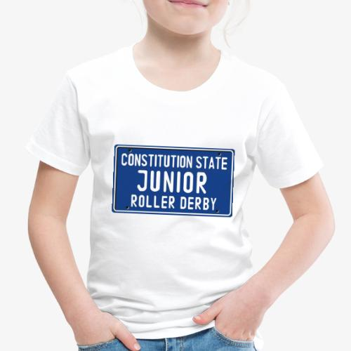 Constitution State Junior Roller Derby - Toddler Premium T-Shirt