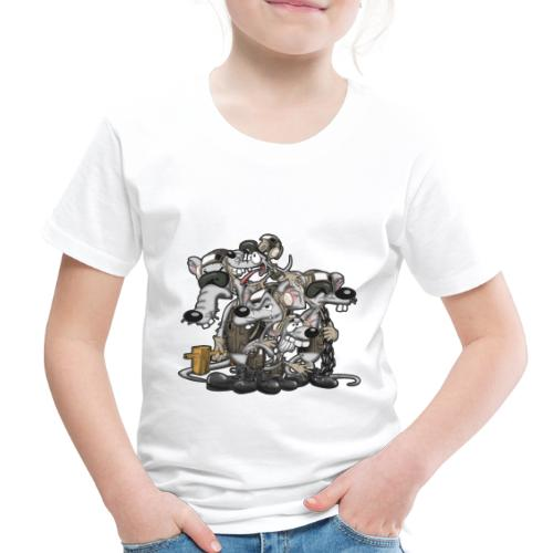 Line Rats - Toddler Premium T-Shirt