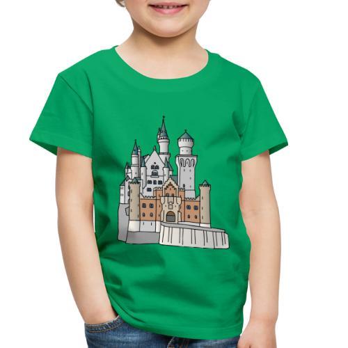 Neuschwanstein Castle, Bavaria - Toddler Premium T-Shirt