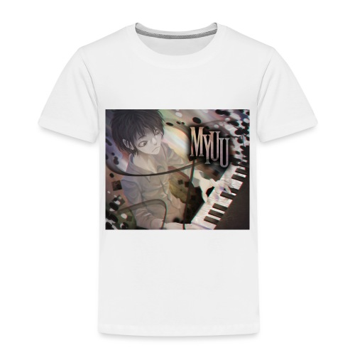 Dark Piano 1 - Toddler Premium T-Shirt