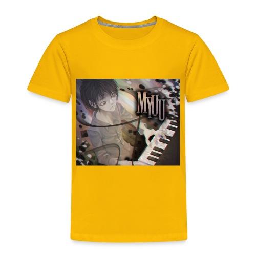 Dark Piano 1 - Toddler Premium T-Shirt