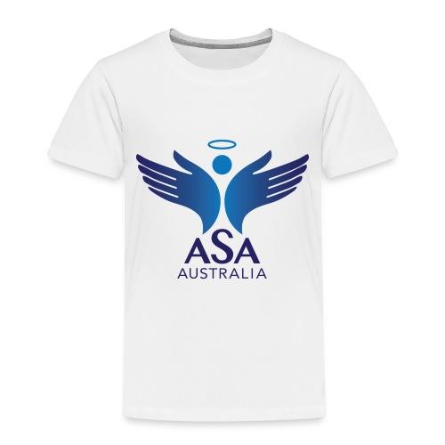3459 Angelman Logo AUSTRALIA FA CMYK - Toddler Premium T-Shirt