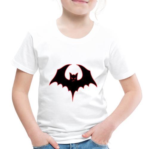 Bat-itude Bat Cartoon - Toddler Premium T-Shirt