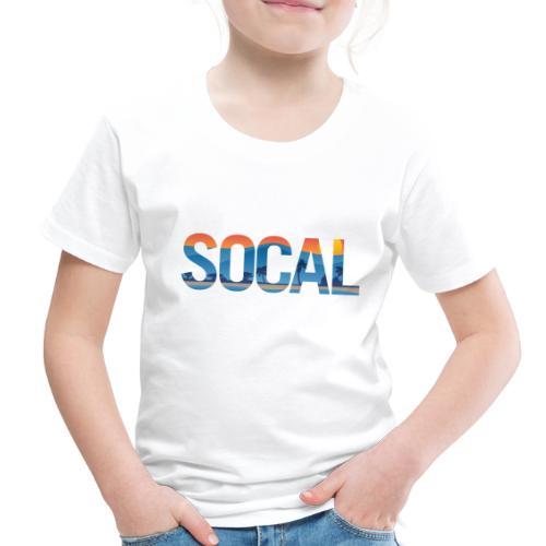 SOCAL Southern California Pride Illustration - Toddler Premium T-Shirt