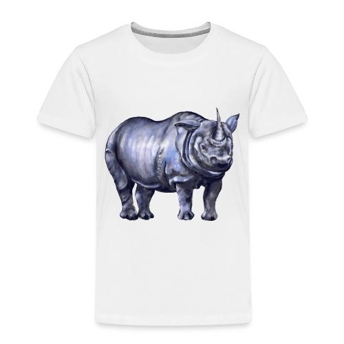 One horned rhino - Toddler Premium T-Shirt