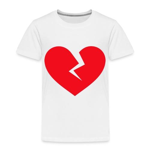 Broken Heart - Toddler Premium T-Shirt