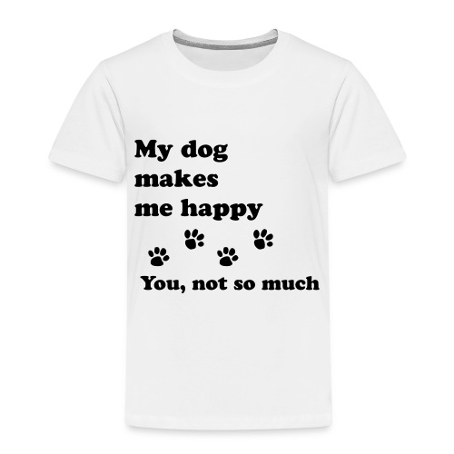 love dog 2 - Toddler Premium T-Shirt