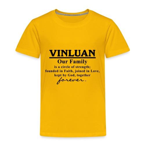 Vinluan Family 01 - Toddler Premium T-Shirt