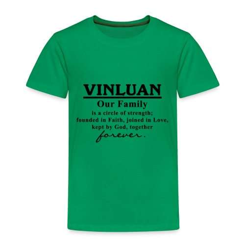 Vinluan Family 01 - Toddler Premium T-Shirt