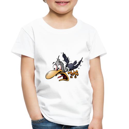 Crazy Bird - Toddler Premium T-Shirt