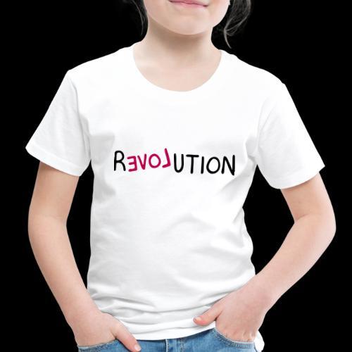 re-LOVE-ution - Toddler Premium T-Shirt