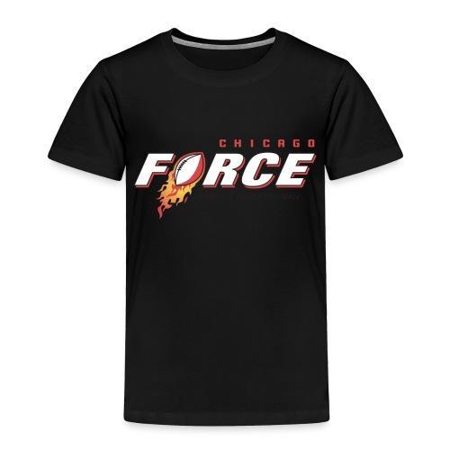 Force logo black WTF - Toddler Premium T-Shirt