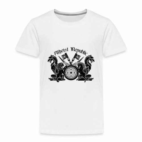 Atheist Republic Logo - Key Emblem - Toddler Premium T-Shirt