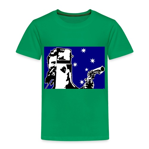 NED KELLY - Toddler Premium T-Shirt