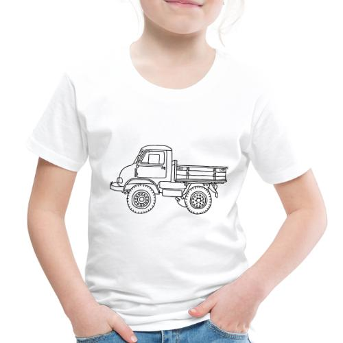 Off-road truck, transporter - Toddler Premium T-Shirt