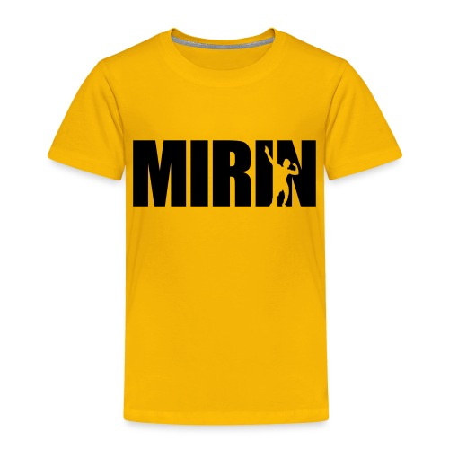 Zyzz Mirin Pose text - Toddler Premium T-Shirt