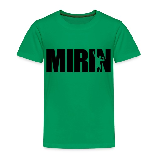 Zyzz Mirin Pose text - Toddler Premium T-Shirt