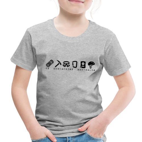 T5 Geocaching Australia - Toddler Premium T-Shirt