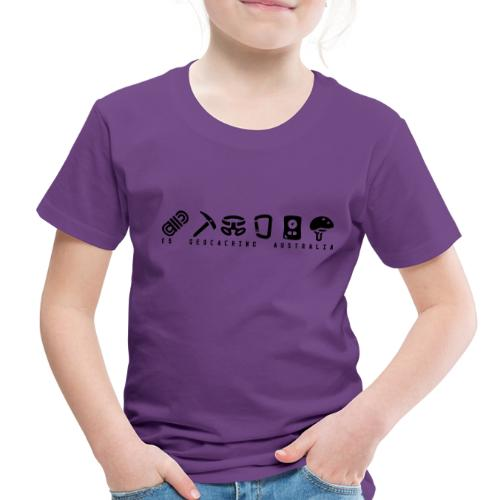 T5 Geocaching Australia - Toddler Premium T-Shirt