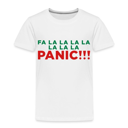 Anxiety Christmas - Toddler Premium T-Shirt