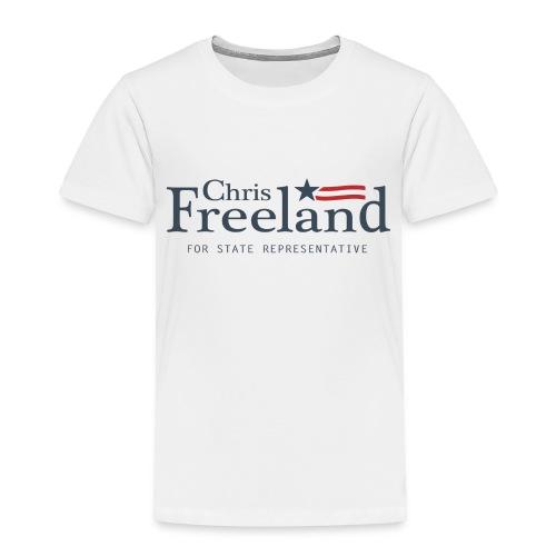 FREELAND FOR STATE REP - Toddler Premium T-Shirt