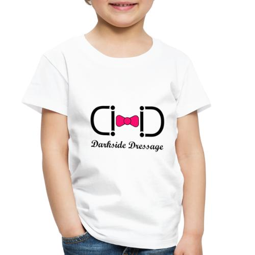 Darkside Dressage Logo - Black letters- Limited! - Toddler Premium T-Shirt