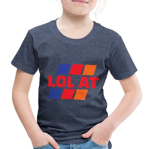 LOL AT Retro Stripes - Toddler Premium T-Shirt