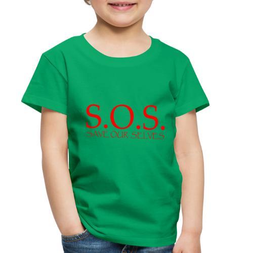 sos no emotion red - Toddler Premium T-Shirt