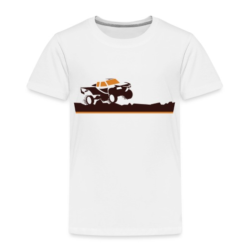 Race Truck Mud Run - Toddler Premium T-Shirt
