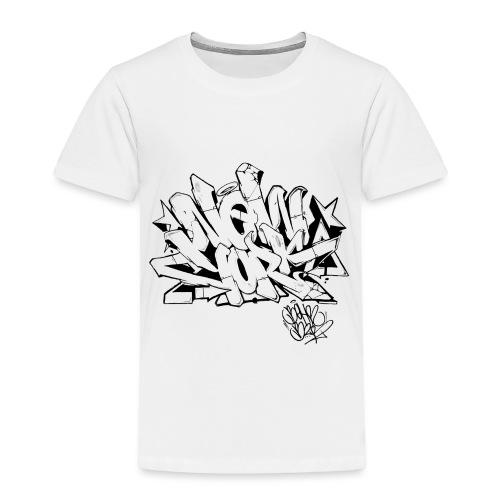 Behr - New York Graffiti Design - Toddler Premium T-Shirt