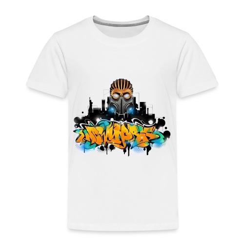 2.ezy - Design for New York Graffiti Color Logo - - Toddler Premium T-Shirt