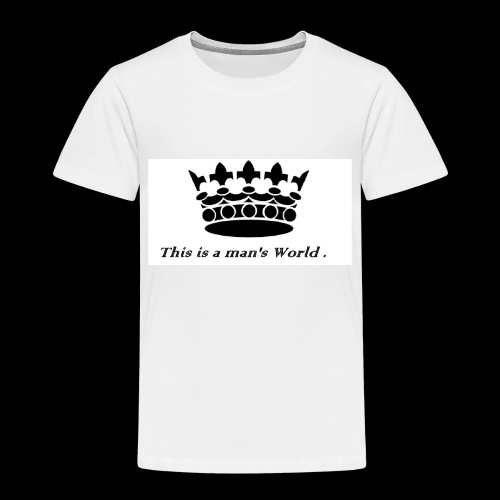its a crowen - Toddler Premium T-Shirt