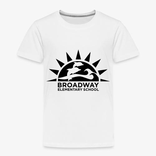 Broadway Elementary Logo - Toddler Premium T-Shirt