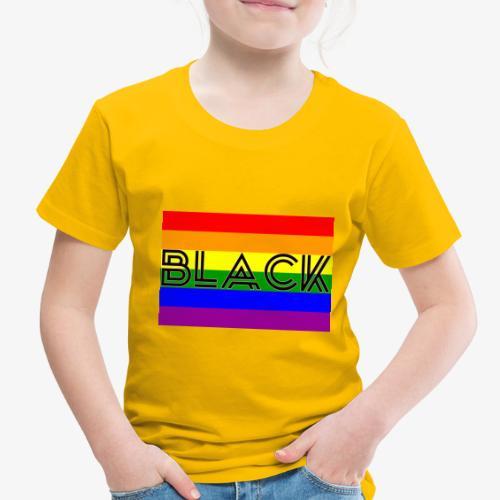 Black LGBTQ - Toddler Premium T-Shirt