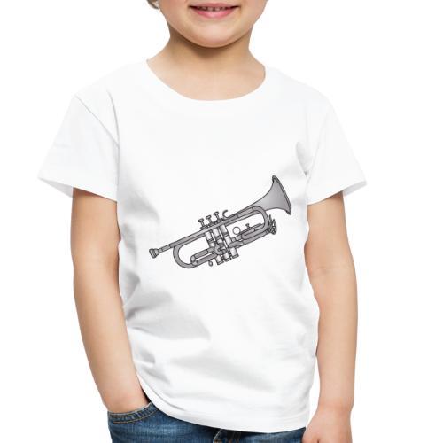 Trumpet brass instrument - Toddler Premium T-Shirt