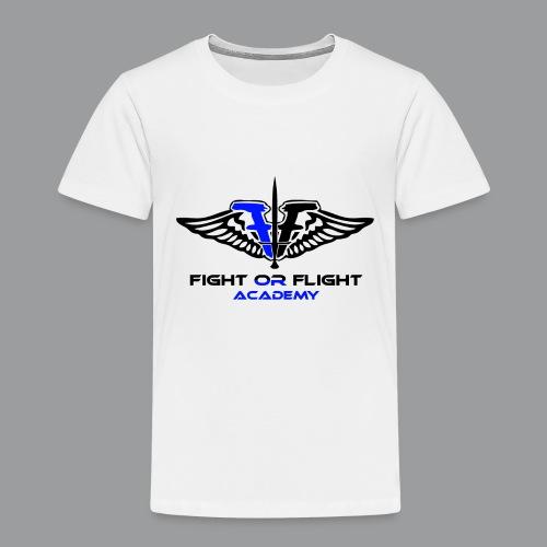 Fight or Flight Academy Logo - Toddler Premium T-Shirt