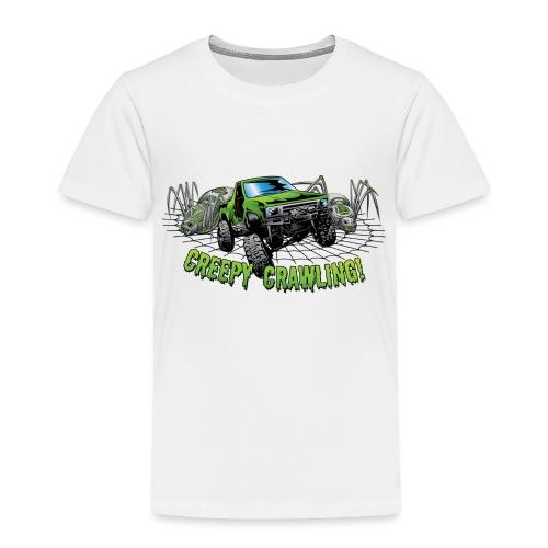 Creepy Truck Crawler blk web - Toddler Premium T-Shirt