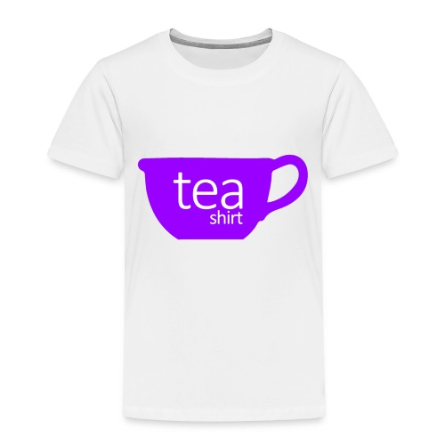 Tea Shirt Simple But Purple - Toddler Premium T-Shirt