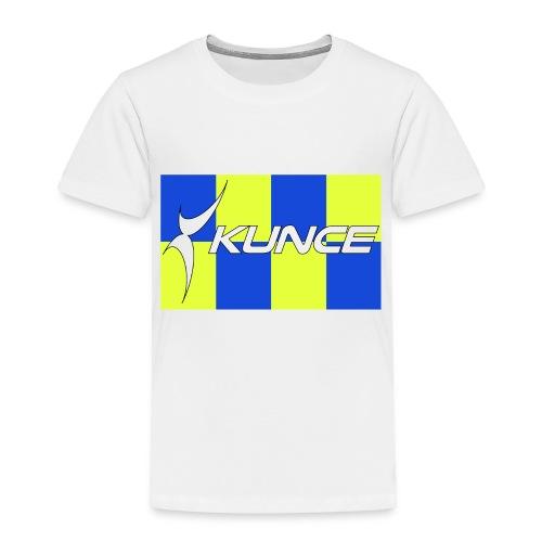 Kunce Clothing Original High Visibility Battenberg - Toddler Premium T-Shirt
