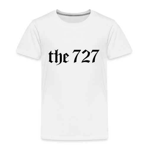 The 727 in Black Lettering - Toddler Premium T-Shirt
