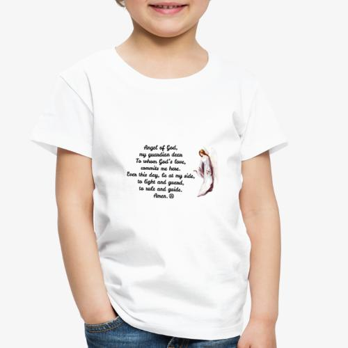 Guardian Angel prayer - Toddler Premium T-Shirt