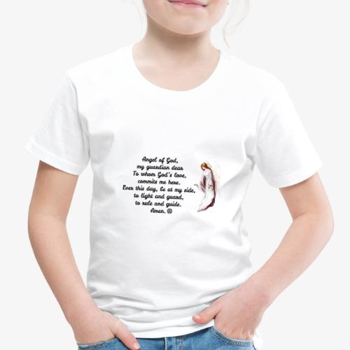 Guardian Angel prayer - Toddler Premium T-Shirt