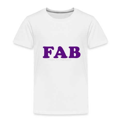 FAB Tank - Toddler Premium T-Shirt
