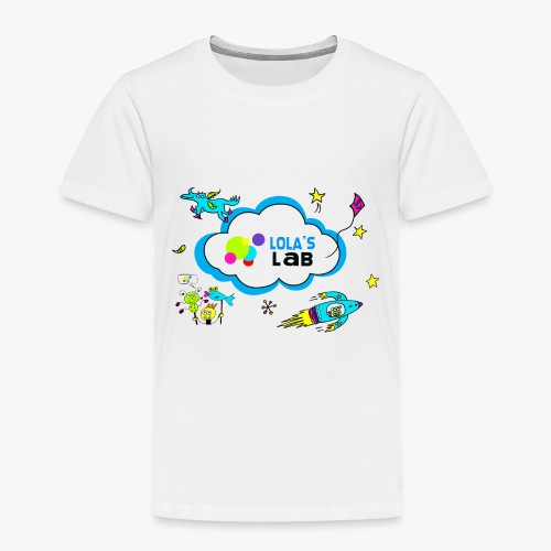 Lola's Lab illustrated logo tee - Toddler Premium T-Shirt