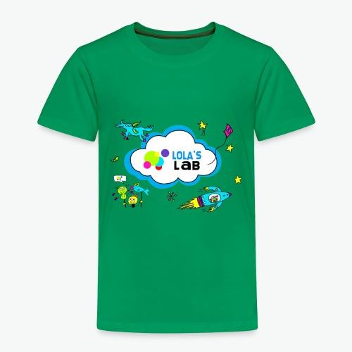 Lola's Lab illustrated logo tee - Toddler Premium T-Shirt