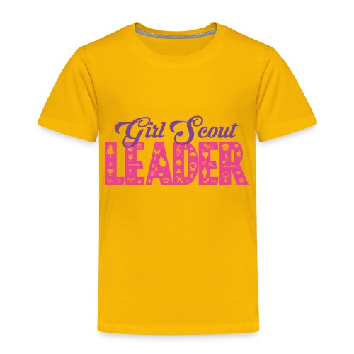 Girl Scout Leader - Toddler Premium T-Shirt