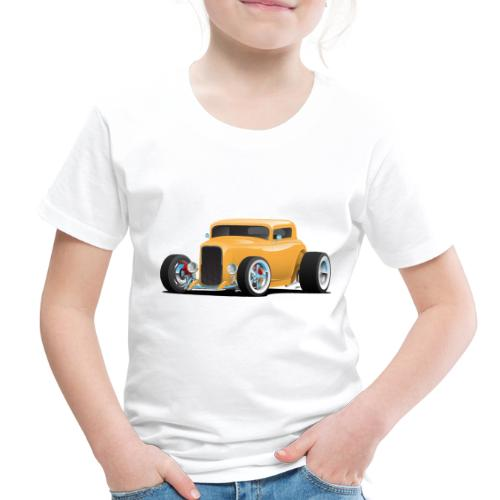 Classic American 32 Hotrod Car Illustration - Toddler Premium T-Shirt