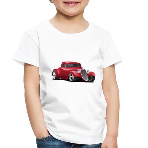Custom American Red Hot Rod Car - Toddler Premium T-Shirt