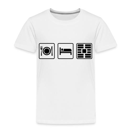 Eat Sleep Urb big fork - Toddler Premium T-Shirt