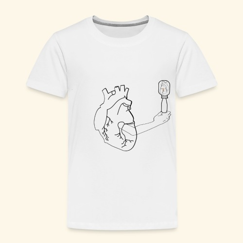 Wounded Heart - Toddler Premium T-Shirt